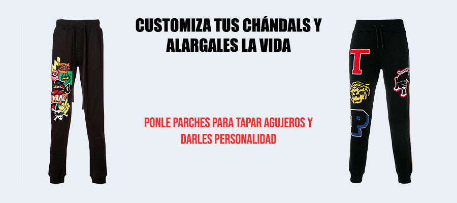 parches chándal